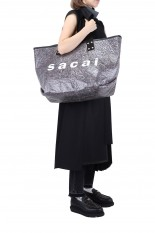 sacai -Women- Soundproof Tote Bag Large (21-0189S)