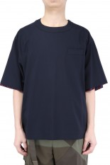 sacai -Men- Suiting Pullover/NAVY(21-02459M)