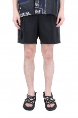 sacai -Men- Suiting Shorts/BLACK(21-02462M)