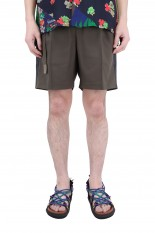 sacai -Men- Suiting Shorts/KHAKI(21-02462M)