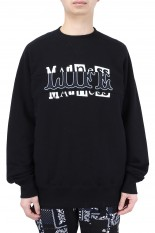 sacai -Men- Archive Mix Pullover/BLACK(21-0174S)