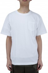 sacai -Men- Cotton T-Shirt/White(SCM-034)