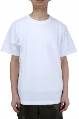 sacai -Men- Side Zip Cotton T-Shirt/White(SCM-037)