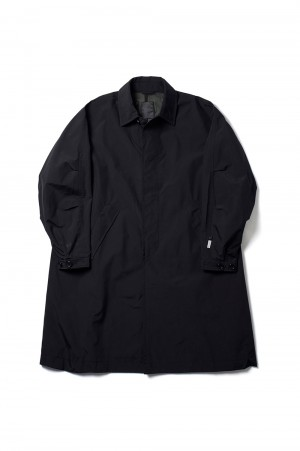 DAIWA PIER39 GORE-TEX INFINIUM(TM) Loose Soutien Collar Coat - BLACK (BJ-15021)