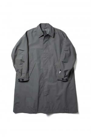 DAIWA PIER39 GORE-TEX INFINIUM(TM) Loose Soutien Collar Coat - GRAY (BJ-15021)