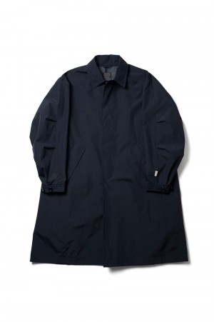 DAIWA PIER39 GORE-TEX INFINIUM(TM) Loose Soutien Collar Coat - DARK NAVY (BJ-15021)