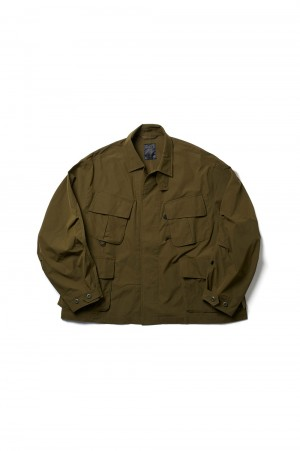 DAIWA PIER39 Tech Jungle Fatigue Jacket - OLIVE (BJ-26021)