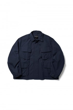 DAIWA PIER39 Tech Jungle Fatigue Jacket - DARK NAVY (BJ-26021)