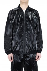 doublet GRADATION CHAOS EMBROIDERY BLOUSON/BLACK(21SS11BL117)