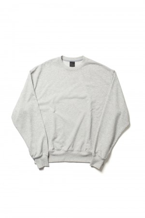 DAIWA PIER39 Tech Sweat Crew - TOP GRAY (BE-53021)