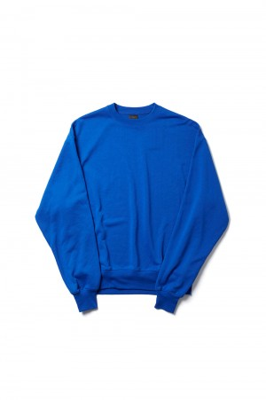 DAIWA PIER39 Tech Sweat Crew -ROYAL BLUE (BE-53021)