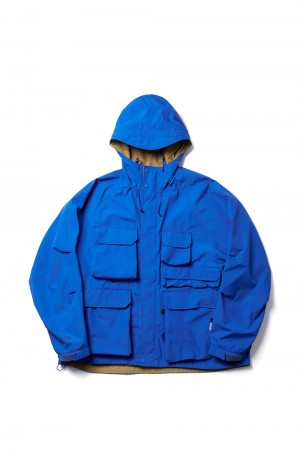 DAIWA PIER39 GORE-TEX INFINIUM(TM) Loose Mountain Parka - ROYAL BLUE (BJ-16021)