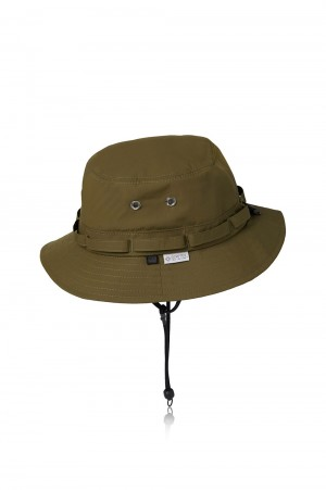 DAIWA PIER39 GORE-TEX INFINIUM(TM) Tech Jungle Hat - OLIVE (BC-15021)