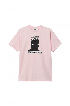 Golf Wang ISOLATION TEE by GOLF WANG /  PINK