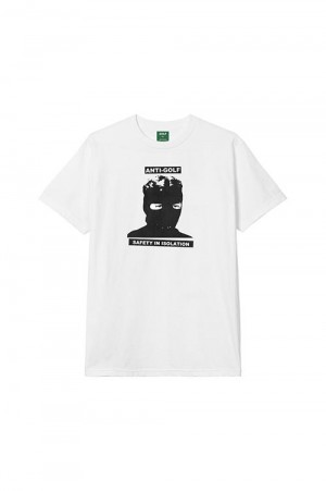 Golf Wang ISOLATION TEE by GOLF WANG /  WHITE