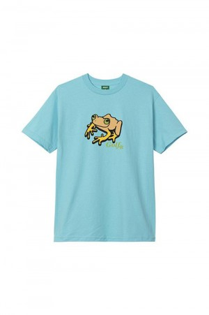 Golf Wang FROG TEE by GOLF WANG /  PACIFIC BLUE