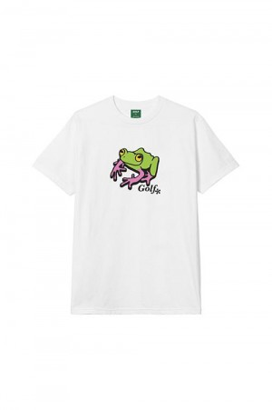 Golf Wang FROG TEE by GOLF WANG / WHITE