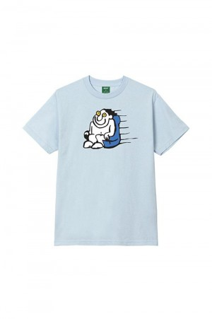 Golf Wang FAST MAN TEE by GOLF WANG / POWDER BLUE