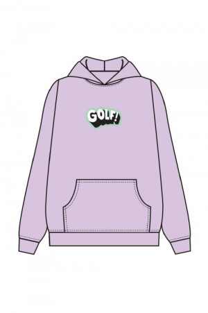Golf Wang WHAM HOODIE by GOLF WANG / LAVENDER