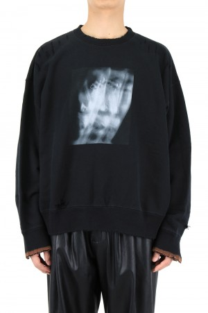 Stein -Men- OVERSIZED REBUILD SWEAT LS-BLACK- (ST.238)