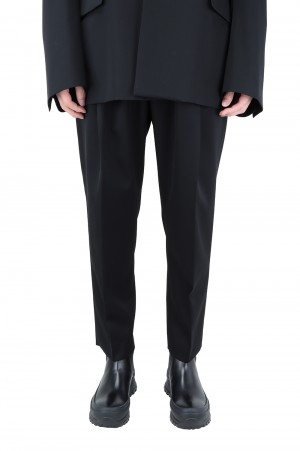 Stein -Men- WIDE TAPERED TROUSERS-BLACK- (ST.217-1)