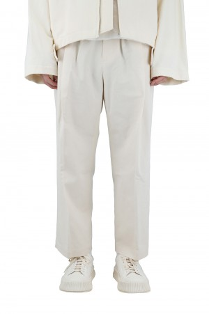 Stein -Men- WIDE STRAIGHT TROUSERS (ST.227-3)