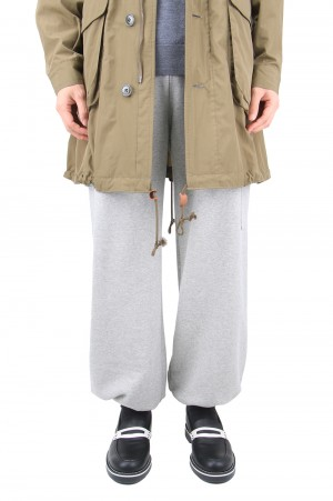 Purple Things -Men- ORIGINAL EMBROIDERY SWEATPANT-GREY- (PT-20B-014PT)