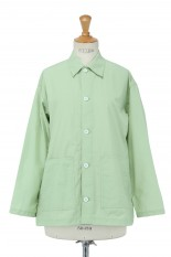 Pheeny Nylon cotton grosgrain coverall jacket-GREEN(PS21-BL02)
