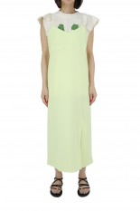 Pheeny Dobby camisole dress-LIME(PS21-OP04)