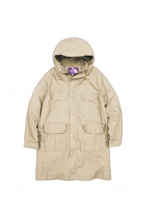 The North Face Purple Label - Men - Midweight 65/35 Mountain Coat - Vintage Beige (NP2050N)