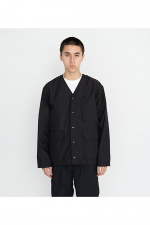 The North Face Purple Label - Men - Midweight 65/35 Hopper Field Cardigan - Black (NP2102N)
