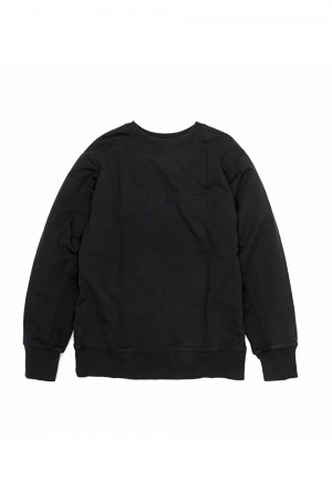 The North Face Purple Label - Men - 10oz Mountain Crew Neck Sweat - Black (NT6903N)