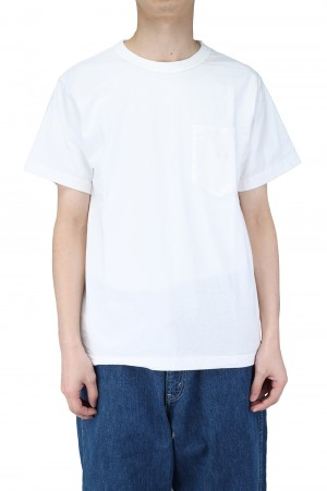 The North Face Purple Label - Men - 7oz H/S Pocket Tee - Off White (NT3103N)