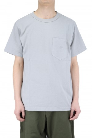 The North Face Purple Label - Men - 7oz H/S Pocket Tee - Asphalt Gray (NT3103N)