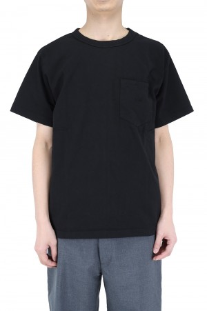 The North Face Purple Label - Men - 7oz H/S Pocket Tee - Black (NT3103N)