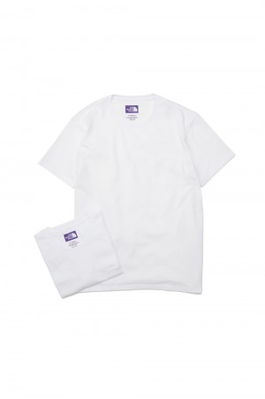 The North Face Purple Label - Men - Pack Field Tee - White (NT3906N)
