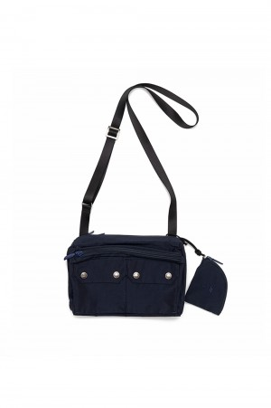 The North Face Purple Label - Men - Mountain Field Shoulder Bag - Navy (NN7101N)