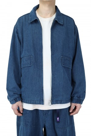 The North Face Purple Label - Men - Denim Field Jacket - Indigo (NP2106N)