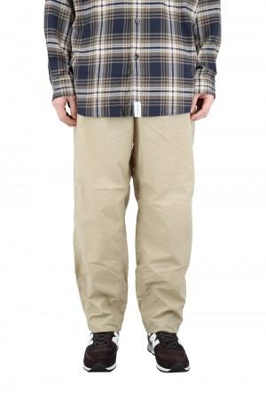 The North Face Purple Label - Men - Shirred Waist Pants - Beige (NT5004N)