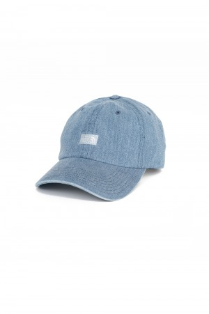 The North Face Purple Label - Men - Denim Field Cap - Indigo Bleach (NN8102N)