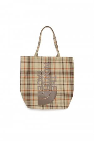 The North Face Purple Label - Men - Madras Field Tote - Beige (NN7103N)