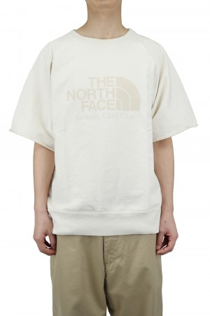 The North Face Purple Label - Men - 10oz H/S Crew Neck Sweat - Ivory (NT6101N)