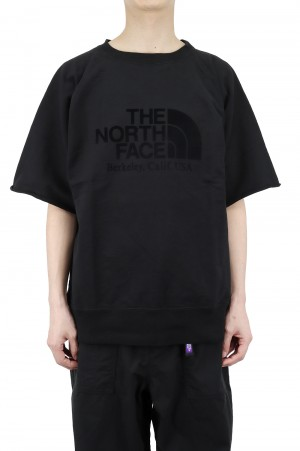 The North Face Purple Label - Men - 10oz H/S Crew Neck Sweat - Black (NT6101N)
