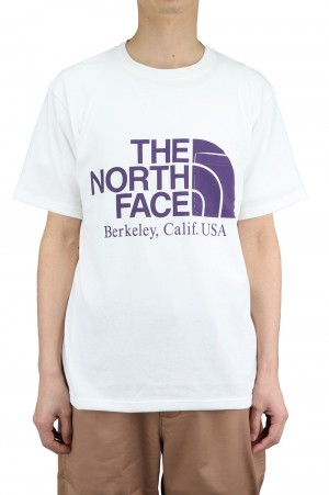 The North Face Purple Label - Men - H/S Logo Tee - Off White (NT3108N)