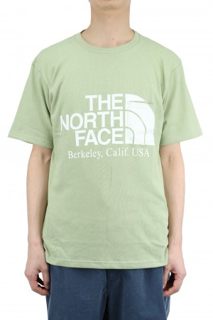 The North Face Purple Label - Men - H/S Logo Tee - Grass Green (NT3108N)