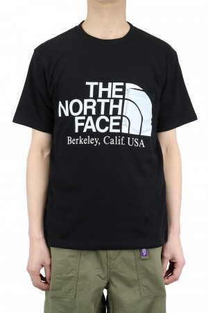 The North Face Purple Label - Men - H/S Logo Tee - Black (NT3108N)