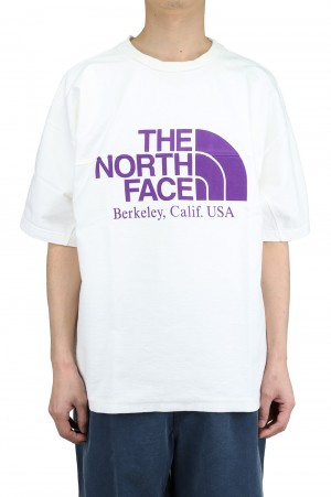 The North Face Purple Label - Men - Combination H/S Logo Tee - Off White (NT3109N)