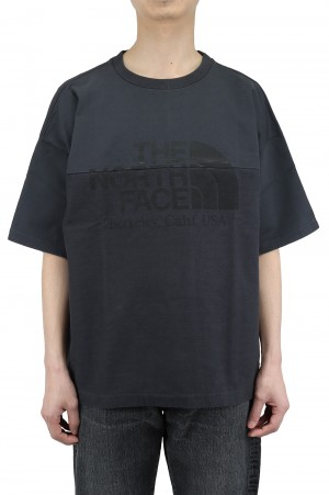 The North Face Purple Label - Men - Combination H/S Logo Tee - Charcoal (NT3109N)
