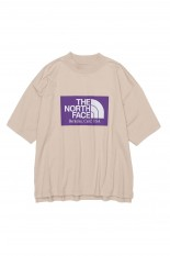 The North Face Purple Label - Men - High Bulky H/S Logo Mock Tee - Light Beige (NT3113N)
