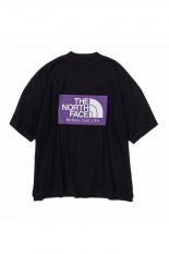 The North Face Purple Label - Men - High Bulky H/S Logo Mock Tee - Black (NT3113N)